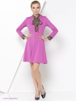 Платье RUXARA. Цвет: малиновый