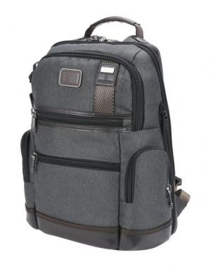 Рюкзаки и сумки на пояс TUMI. Цвет: свинцово-серый