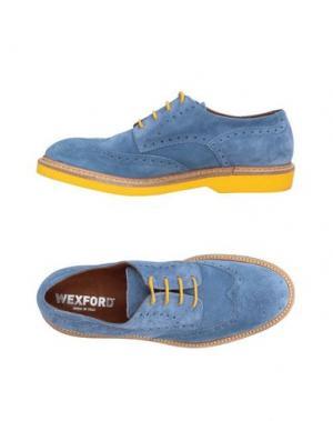 Обувь на шнурках WEXFORD. Цвет: пастельно-синий