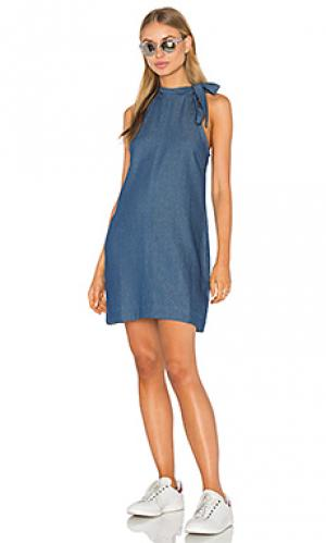 Платье с завязкой yianni PFEIFFER. Цвет: none