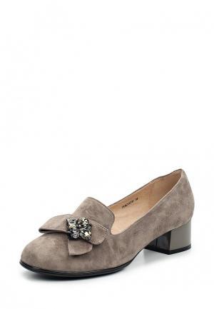 Туфли Balex. Цвет: серый