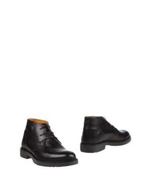 Полусапоги и высокие ботинки ALV ANDARE LONTANO VIAGGIANDO. Цвет: темно-коричневый