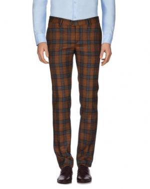 Повседневные брюки HARRY & SONS. Цвет: коричневый