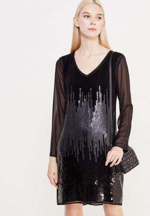 Платье Patrizia Pepe. Цвет: черный