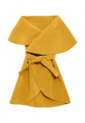Пончо Magwear. Цвет: желтый