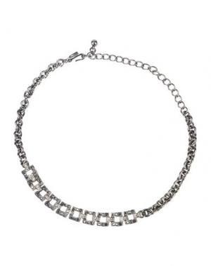 Ожерелье KENNETH JAY LANE. Цвет: свинцово-серый