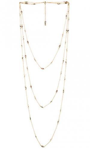 Ожерелье aphrodite SunaharA. Цвет: металлический золотой