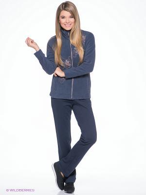 Спортивный костюм CMP. Цвет: серо-голубой