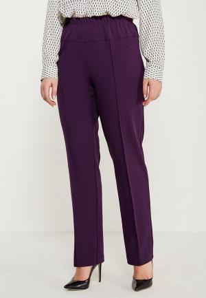 Брюки Darissa Fashion. Цвет: фиолетовый