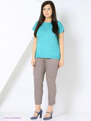 Джемпер Milana Style. Цвет: лазурный