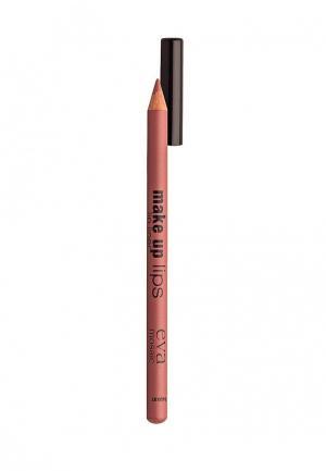 Карандаш для губ Eva Mosaic. Цвет: коричневый