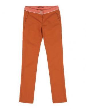 Повседневные брюки SCOTCH R'BELLE. Цвет: ржаво-коричневый