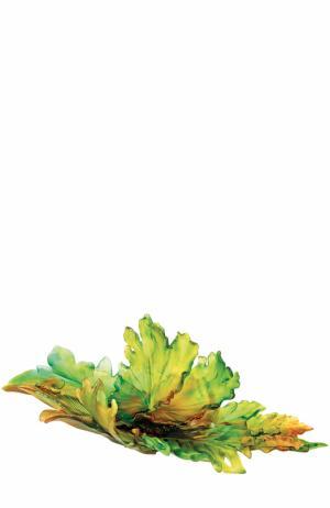 Блюдо Magnum для центра стола Daum. Цвет: зеленый