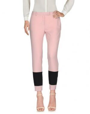 Повседневные брюки TROU AUX BICHES. Цвет: розовый