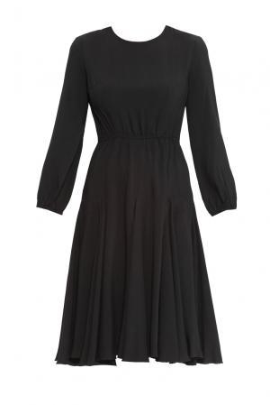 Платье из вискозы 160595 Cyrille Gassiline. Цвет: черный