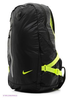 Рюкзак NIKE VAPOR LITE BACKPACK. Цвет: синий, светло-желтый, черный