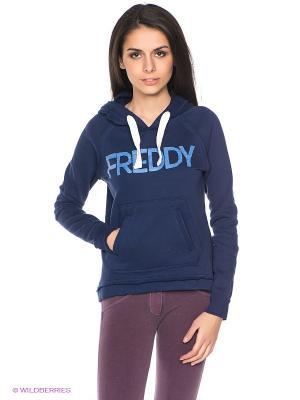 Худи Freddy. Цвет: синий