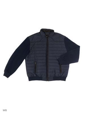 Куртка TONY MONTANA. Цвет: темно-синий