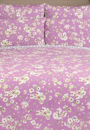 Постельное белье Estia. Цвет: розовый