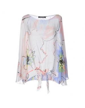 Блузка FISICO-CRISTINA FERRARI. Цвет: белый