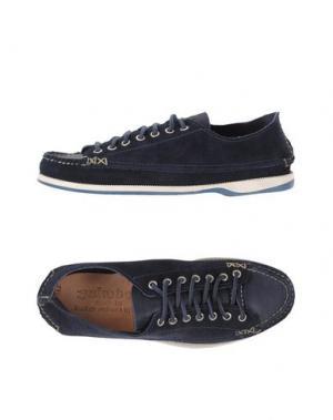 Низкие кеды и кроссовки YUKETEN. Цвет: темно-синий