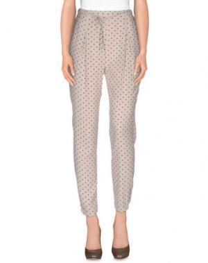 Повседневные брюки LA'T by L'AGENCE. Цвет: бежевый