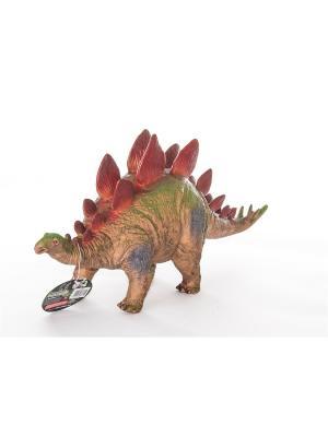 Игрушка Фигурка динозавра, Стегозавр 17*45 см HGL. Цвет: зеленый