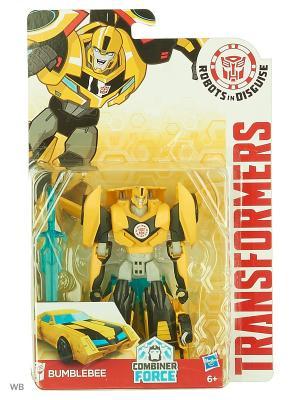 Трансформеры: Робот под прикрытием Hasbro. Цвет: желтый, голубой, прозрачный, черный