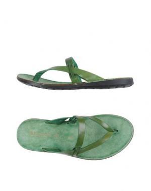 Вьетнамки BRADOR. Цвет: зеленый