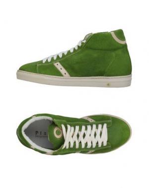 Высокие кеды и кроссовки PLAYHAT. Цвет: светло-зеленый
