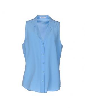 Pубашка EQUIPMENT FEMME. Цвет: лазурный