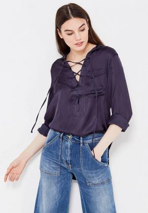 Блуза Denim & Supply Ralph Lauren. Цвет: синий
