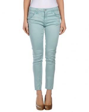 Повседневные брюки CYCLE. Цвет: небесно-голубой