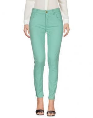 Повседневные брюки CYCLE. Цвет: светло-зеленый