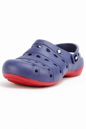 Туфли прогулочные GOW. Цвет: синий