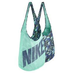 Спортивная сумка  Graphic Reversible Nike. Цвет: зеленый