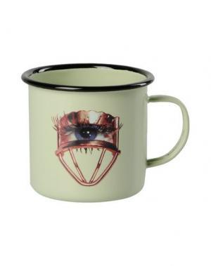 Для чая и кофе SELETTI WEARS TOILETPAPER. Цвет: светло-зеленый