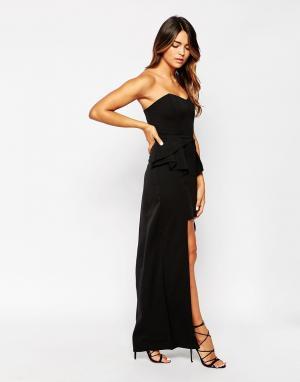 ROSIE FORTESCUE Платье макси Venice. Цвет: черный