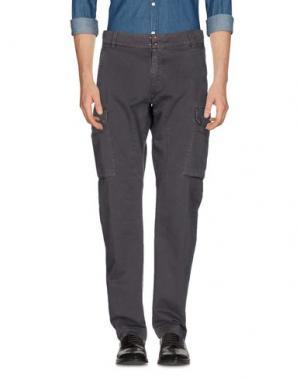 Повседневные брюки JEORDIE'S. Цвет: свинцово-серый