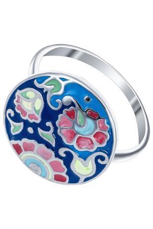 Кольцо Алмаз-Холдинг. Цвет: серебряный