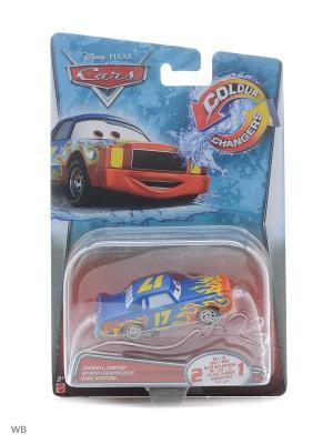 Машинка из серии Disney Cars Mattel. Цвет: зеленый, морская волна, светло-зеленый