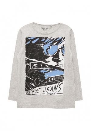 Лонгслив Pepe Jeans. Цвет: серый
