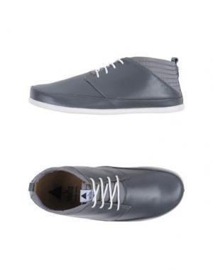 Обувь на шнурках VOLTA. Цвет: свинцово-серый