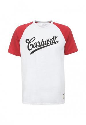 Футболка Carhartt. Цвет: белый