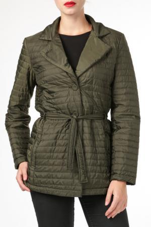 Куртка HDS. Цвет: зеленый