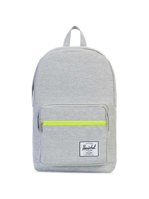 Рюкзак POP QUIZ (A/S) Herschel. Цвет: светло-серый