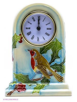Часы Pavone. Цвет: светло-зеленый, молочный, красный