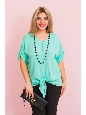 Блузка BALSAKO. Цвет: светло-зеленый