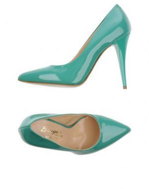 Туфли F.LLI BRUGLIA. Цвет: светло-зеленый