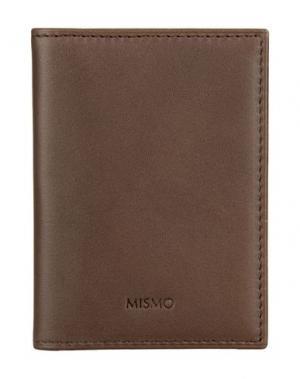 Чехол для документов MISMO. Цвет: темно-коричневый
